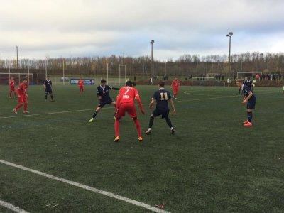 2017 U19 J13 MONTCEAU REIMS 1-0, le 26/11/2017