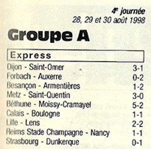 1998 CFA J04 REIMS NANCY 1-1, le 29/08/1998