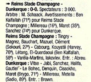 1998 CFA J34 REIMS DUNKERQUE 0-0, le 28/05/1999