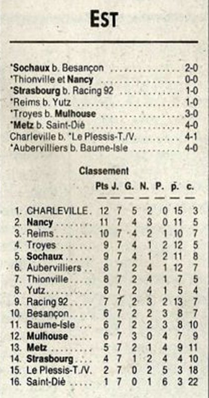 1991 D3 J07 REIMS YUTZ 1-0, le 28/09/1991