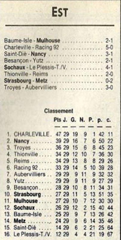 1991 D3 J29 THIONVILLE REIMS 2-0, le 17/05/1192