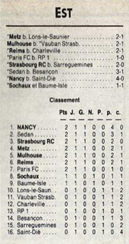 1990 D3 J01 REIMS CHARLEVILLE 2-1, le 18/08/1990