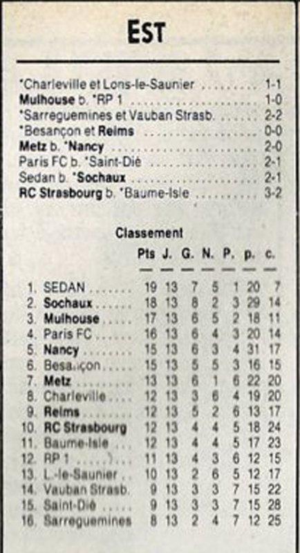 1990 D3 J13 BESANCON REIMS 0-0, le 17/11/1990