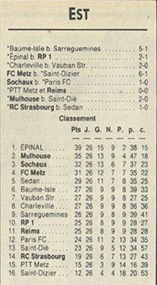1989 D3 J26 ASPTT METZ REIMS 0-0, le 21/04/1990