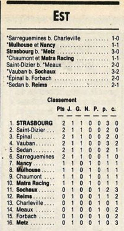 1988 D3 J01 SEDAN REIMS 1-0, le 14/08/1988