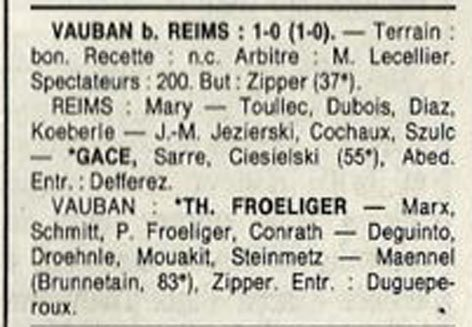 1988 D3 J28 REIMS VAUBAN-STRASBOURG 0-1, le 21/05/1989
