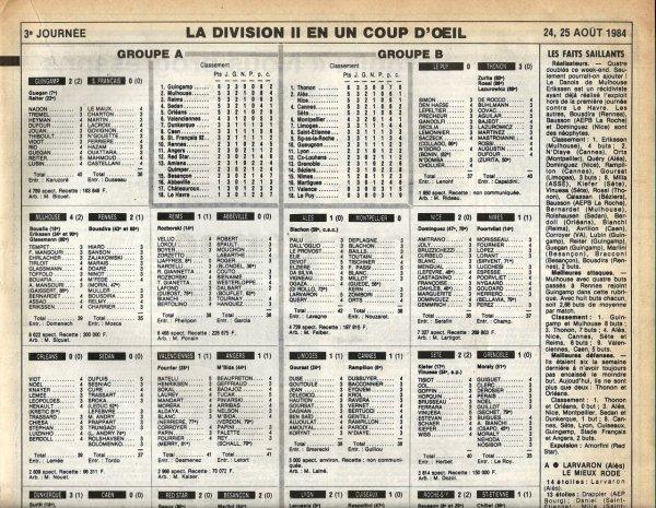 1984 D2A J03 REIMS ABBEVILLE 1-0, le 25/08/1984