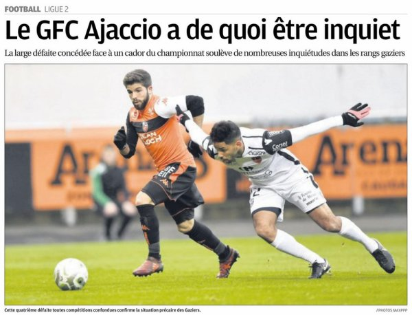 2017 Ligue 2 J20 LORIENT GAZELEC 4-1, le 13/01/2018