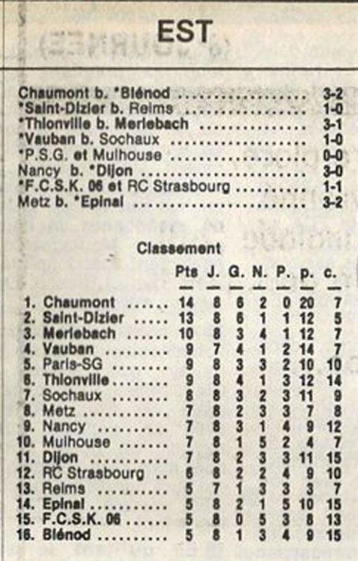 1984 D3 J08 SAINT-DIZIER REIMS 1-0, le 14/10/1984