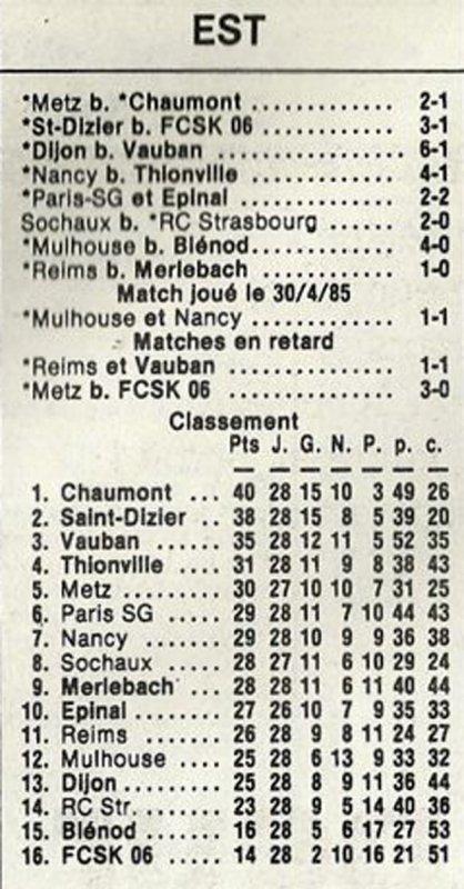 1984 D3 J28 REIMS MERLEBACH 1-0, le 05/05/1984