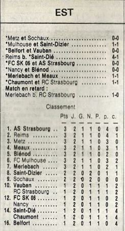 1983 D3 J02 SAINT-DIE REIMS 1-4, le 04/09/1983