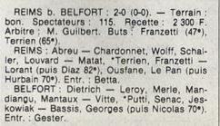 1983 D3 J05 REIMS BELFORT 2-1, le 25/09/1983