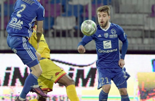 2017 Ligue 2 J22 BOURG EN BRESSE REIMS, l'avant match, le 19/01/2018