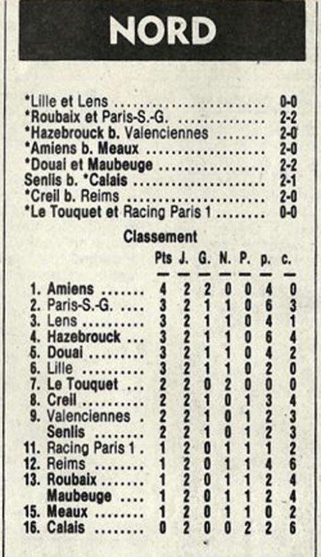 1982 D3 J02 CREIL REIMS 1-0, le 03/09/1982