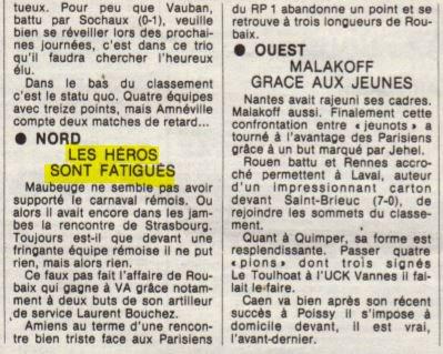 1982 D3 J22 REIMS MAUBEUGE 3-2, le 20/03/1983