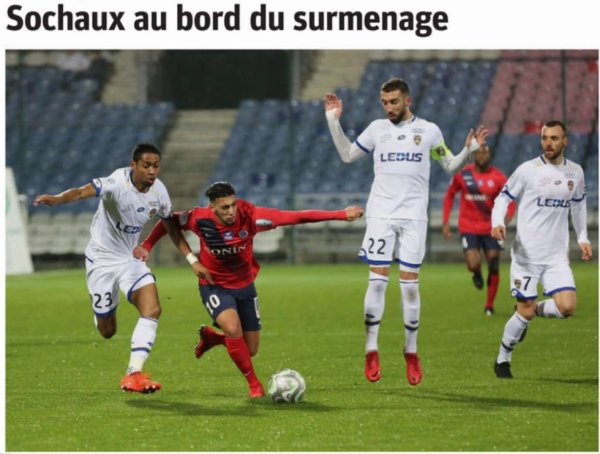 2017 Ligue 2 J23 CHÂTEAUROUX SOCHAUX 1-1, le 26/01/2018