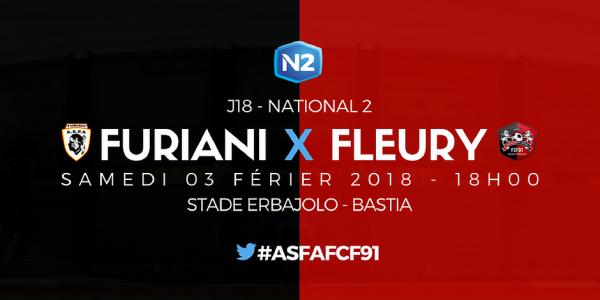 2017 NATIONAL 2 J18 FURIANI AGLIANI FLEURY 2-1, le 03/02/2018