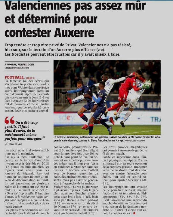 2017 Ligue 2 J27 AUXERRE VALENCIENNES 2-0, le 23/02/2018