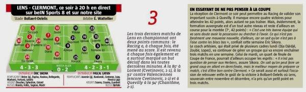 2017 Ligue 2 J27 LENS CLERMONT 0-1, le 23/02/2018