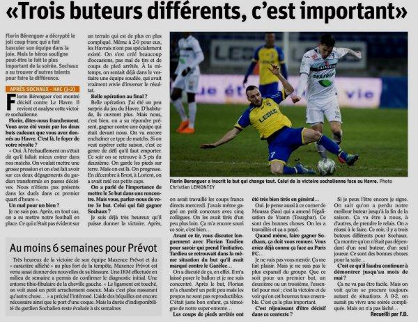 2017 Ligue 2 J26 SOCHAUX LE HAVRE 3-2, le 16/02/2018