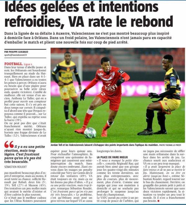 2017 Ligue 2 J28 VALENCIENNES ORLEANS 0-1, le 02/03/2018