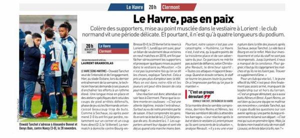 2017 Ligue 2 J29 LE HAVRE CLERMONT 2-1, le 09/03/2018