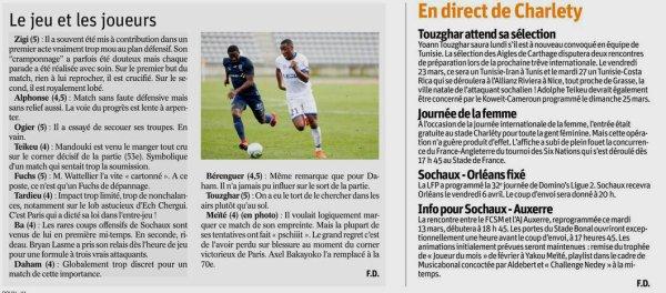 2017 Ligue 2 J29 PARIS FC SOCHAUX 2-0, le 10/03/2018