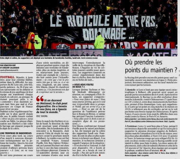 2017 Ligue 2 J29 LENS BOURG en BRESSE 0-1, le 14/03/2018