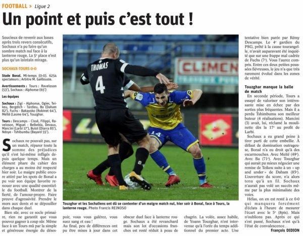 2017 Ligue 2 J30 SOCHAUX TOURS 0-0, le 16/03/2018