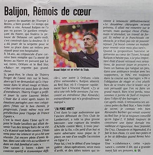 2017 Ligue 2 J32 REIMS LE HAVRE, l'avant match, le 06/04/2018