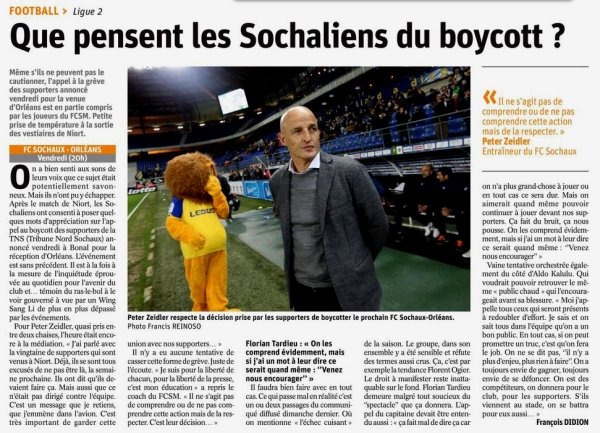 2017 Ligue 2 J32 SOCHAUX ORLEANS 3-2, le 06/04/2018
