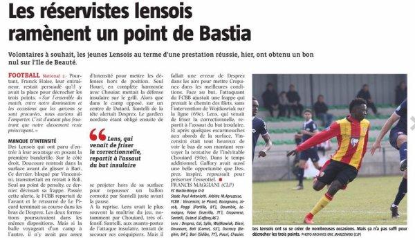 2017 NATIONAL J25 BASTIA-BORGO LENS 0-0, le 07/04/2018