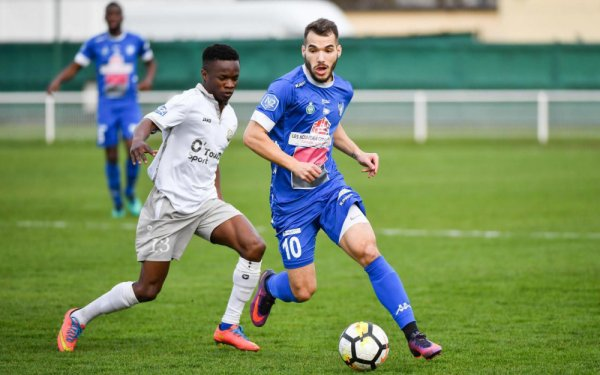 2017 NATIONAL 2 J25 DRANCY POISSY 1-1, le 07/04/2018