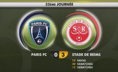 2017 Ligue 2 J33 PARIS FC REIMS 0-3 , le live, le 14/04/2018