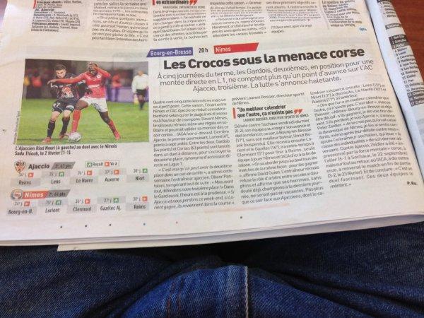 2017 Ligue 2 J34 BOURG en BRESSE NÎMES 2-2, le 20/04/2018