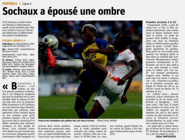 2017 Ligue 2 J36 SOCHAUX LORIENT 0-2, le 27/04/2018