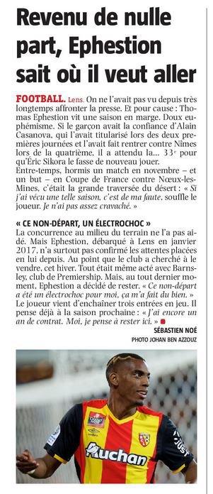 2017 Ligue 2 J36 LENS PARIS FC 1-0, le 30/04/2018