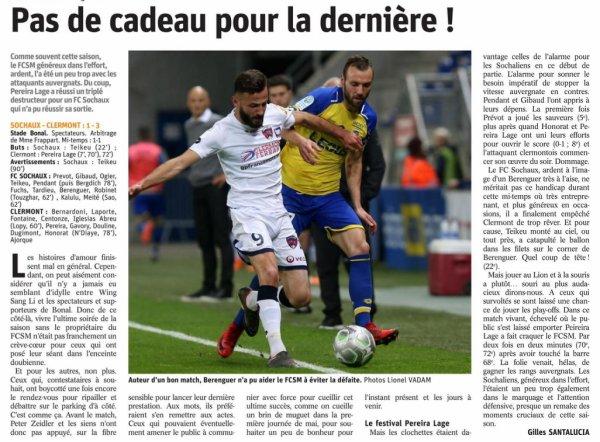 2017 Ligue 2 J37 SOCHAUX CLERMONT 1-3, le 04/05/2018