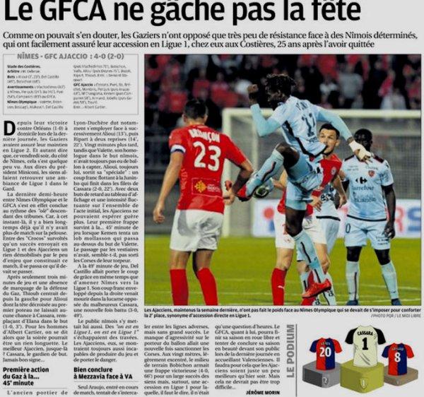 2017 Ligue 2 J37 NÎMES GAZELEC 4-0, le 04/05/2018