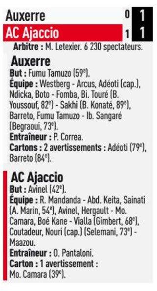 2017 Ligue 2 J37 AUXERRE AJACCIO 1-1, le 04/05/2018