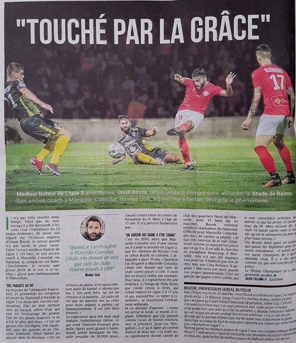 2017 Ligue 2 J38 REIMS NÎMES , l'avant match, le 10/05/2018
