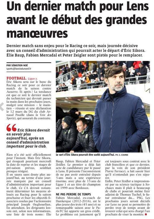 2017 Ligue 2 J38 LENS AUXERRE 2-1, le 11/05/2018