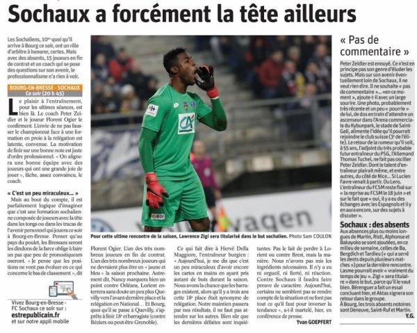 2017 Ligue 2 J38 BOURG en BRESSE SOCHAUX 2-1, le 11/05/2018