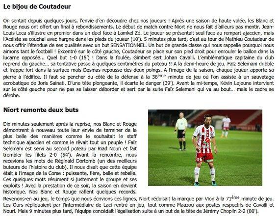 2017 Ligue 2 J38 AJACCIO NIORT 2-2, le 11/05/2018