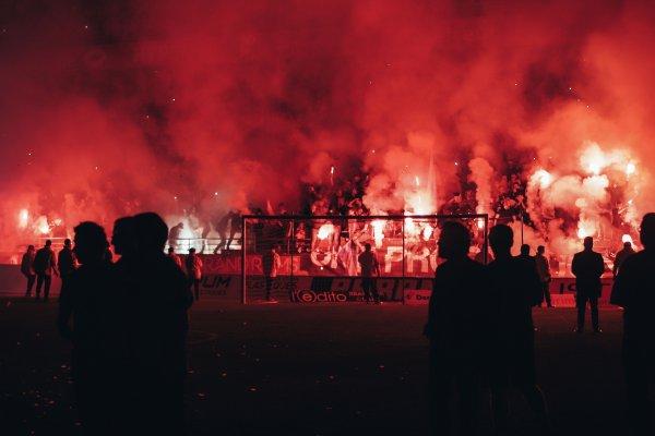 2017 FESTIVITES pour le TITRE de CHAMPION DE Ligue 2 , le 12/05/2018