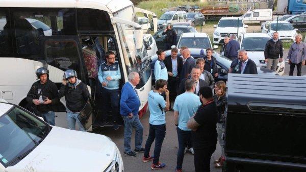 2017 Ligue 2 PLAY-OFFS2 AJACCIO LE HAVRE reporté , le 18/05/2018