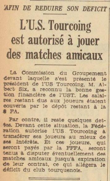 1938 D2  TOUCOING JETTE L'EPONGE, le 05/04/1939