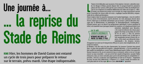 2018 Ligue1 : REPRISE MEDICALE pour LES JOUEURS, le 29/06/2018