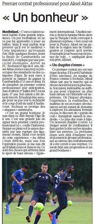 2018 MERCATO AKTAS REJOINT REIMS, le 09/07/2018