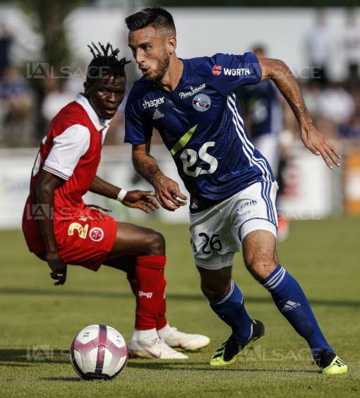 2018 AMICAL STRASBOURG REIMS 3-3, le 28/07/2018